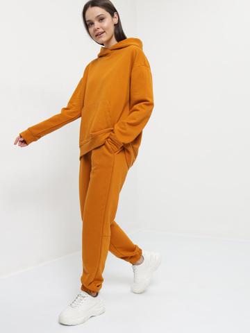 Костюм из футера (худи и брюки)