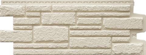 Фасадные панели GRAND LINE Камелот Стандарт Молочный