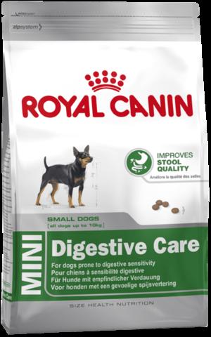 Для собак с чувствительным пищеварением