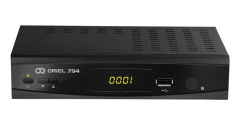 Цифровая приставка Oriel 794 эфирный ресивер DVB-T2