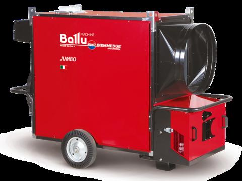 Теплогенератор мобильный - Ballu-Biemmedue Jumbo 235Т (400V-3-50/60 Hz)