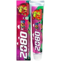 Детская зубная паста Aekyung для укрепления эмали с клубничным вкусом 80 гр