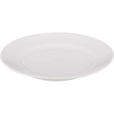 Тарелка обеденная Добруш фарфоровая белая 265 мм (артикул производителя 4С0679Ф34)
