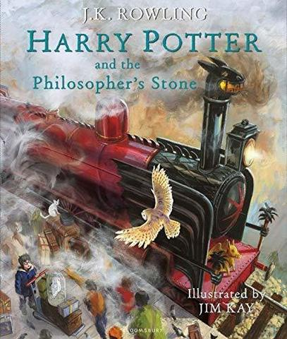 Harry Potter & the Philosopher's Stone - illustrated ed. (HB)