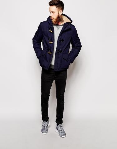 Куртка-парка с застежкой на пуговицы