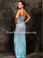 Наша покупательница в платье Jovani 4247 в бирюзовом цвете