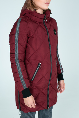 Куртка плащевка на синтепоне удлиненная Nadya