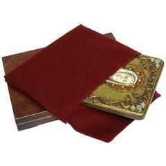 Инкрустированная рукописная икона Блаженная старица Матрона Московская 29х21см на натуральном дереве в подарочной коробке