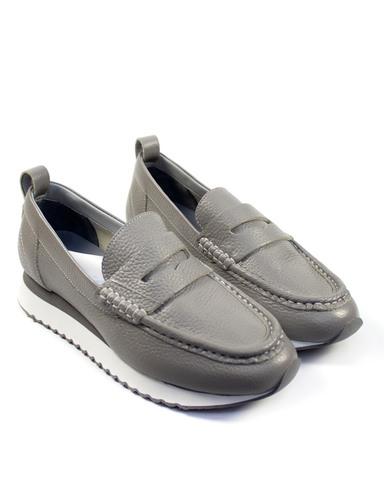 серые туфли Alpino