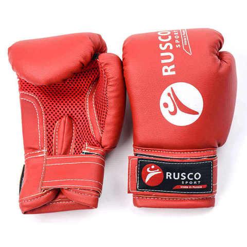 Перчатки боксерские Rusco красные