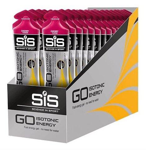SiS Go Isotonic Gel, упаковка 30х60 ml, Вишня