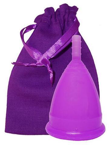Менструальная чаша CupLee S, Фиолетовая