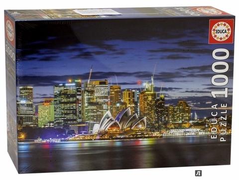 Puzzle Sidney City Twilight 1000 Parça Puzzle