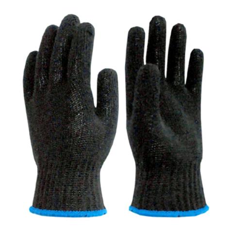 Утепленные Перчатки черные двойные