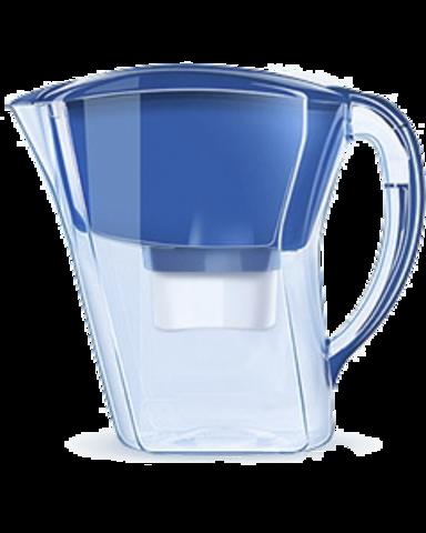 Фильтр-кувшин для воды Аквафор Агат синий кобальт.