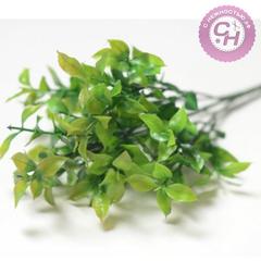 Искусственная зелень Травка полевая, букет 5 веток, 34 см.