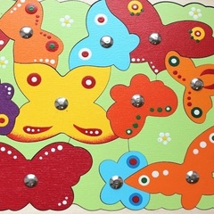 Магнитная мозаика рыбалка Бабочки