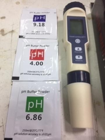 Многофункциональный тестер качества воды 5 в 1