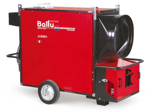 Теплогенератор мобильный - Ballu-Biemmedue Jumbo 235Т (230V-3-50/60 Hz)