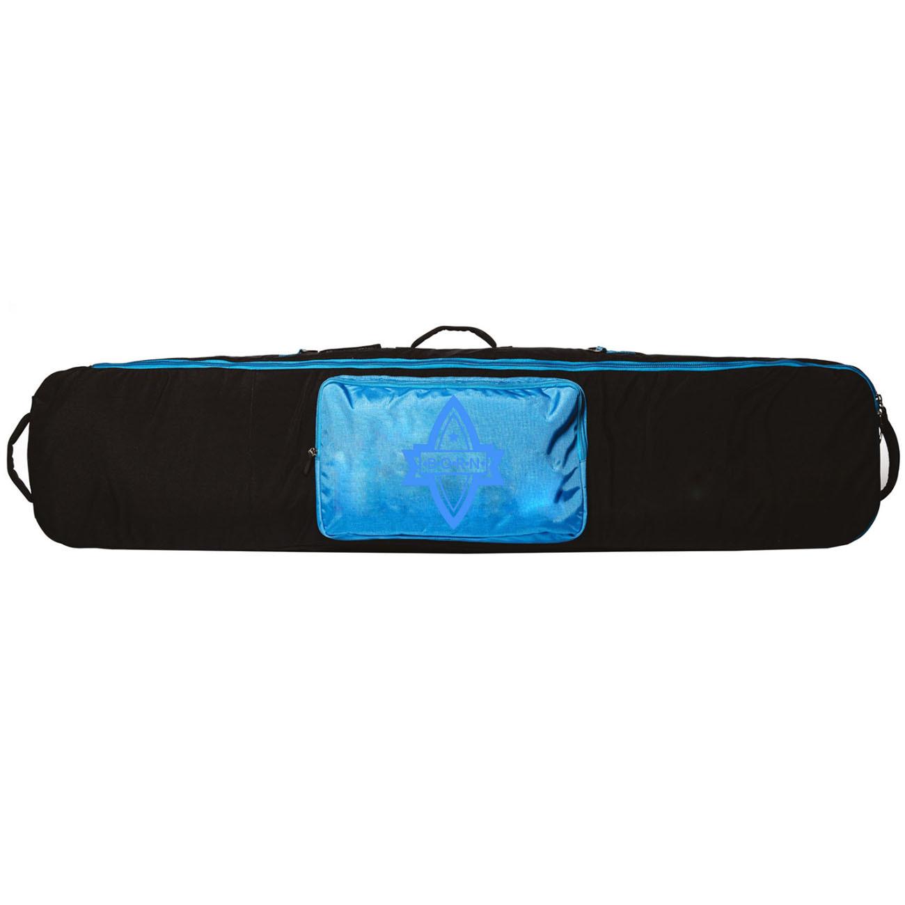 Сноуборд/Лыжи Чехол для сноуборда Born без колес 156/166 см Черный/голубой (0099290) BORN_11.jpg