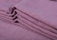 Штора готовая однотонная из портьерной ткани | цвет: сияющая орхидея