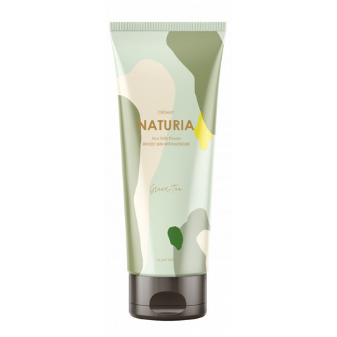 NATURIA Скраб для тела Зеленый Чай Creamy Oil Salt Scrub Green Tea 250 г.