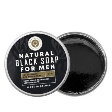 Натуральное черное мыло для Мужчин™Дом Природы