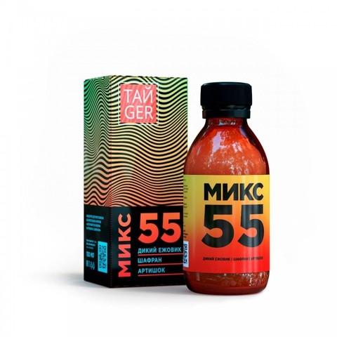 ТАЙGER Микс 55 (клеточный сок ежовики) 150 мл