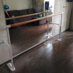 Станок хореографический СП1-1 однорядный стена + пол