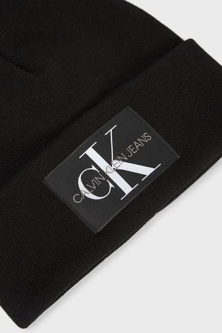 Мужская черная шапка Calvin Klein