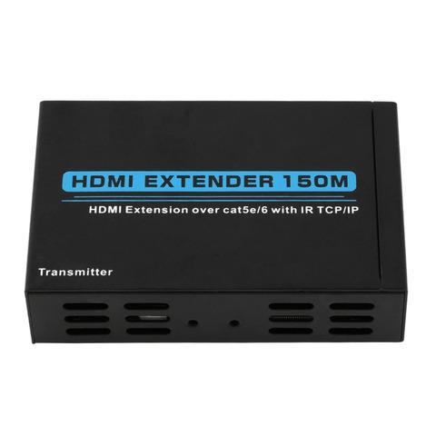Hdmi extender 150m удлинитель по витой паре cat-5e/6e - 3d