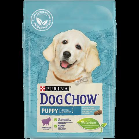 Purina Dog Chow сухой корм для щенков (ягненок) 2,5 кг
