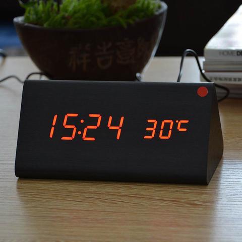 Настольные цифровые часы - будильник VST 861