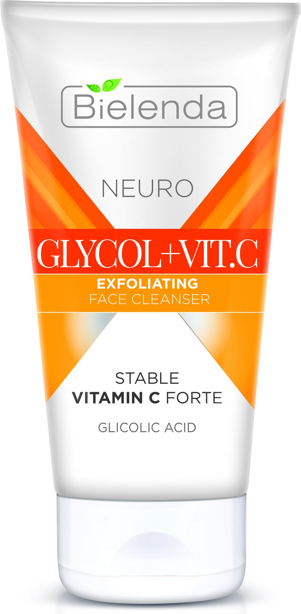 NEURO GLICOL + VIT. C Отшелушивающая эмульсия для умывания лица 150мл