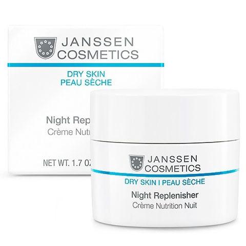 Janssen Dry Skin: Питательный ночной регенерирующий крем для лица (Night Replenisher)