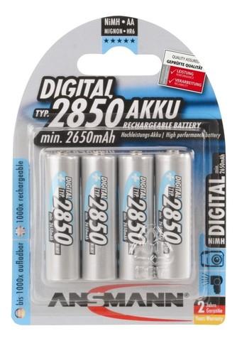 Аккумулятор АА/NiMH ANSMANN 1.2V 2850mAh Digital