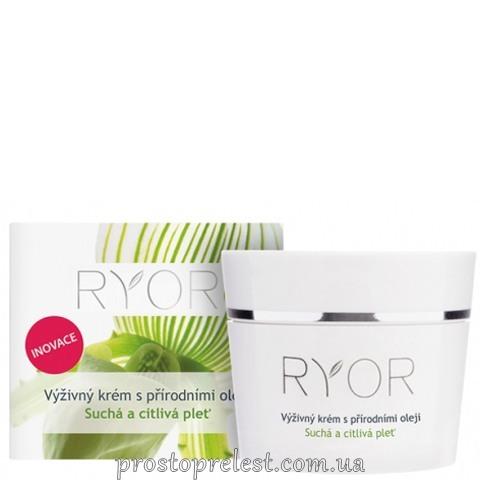 Ryor Face Care Cream - Традиційний мигдальний ультражирний крем