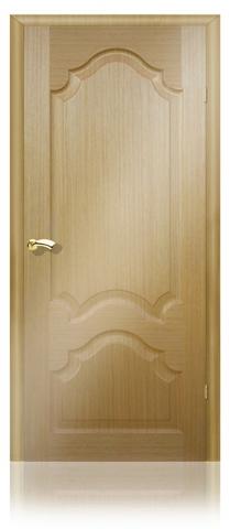 Дверь Кардинал (светлый дуб, остекленная шпонированная), фабрика Маркеев