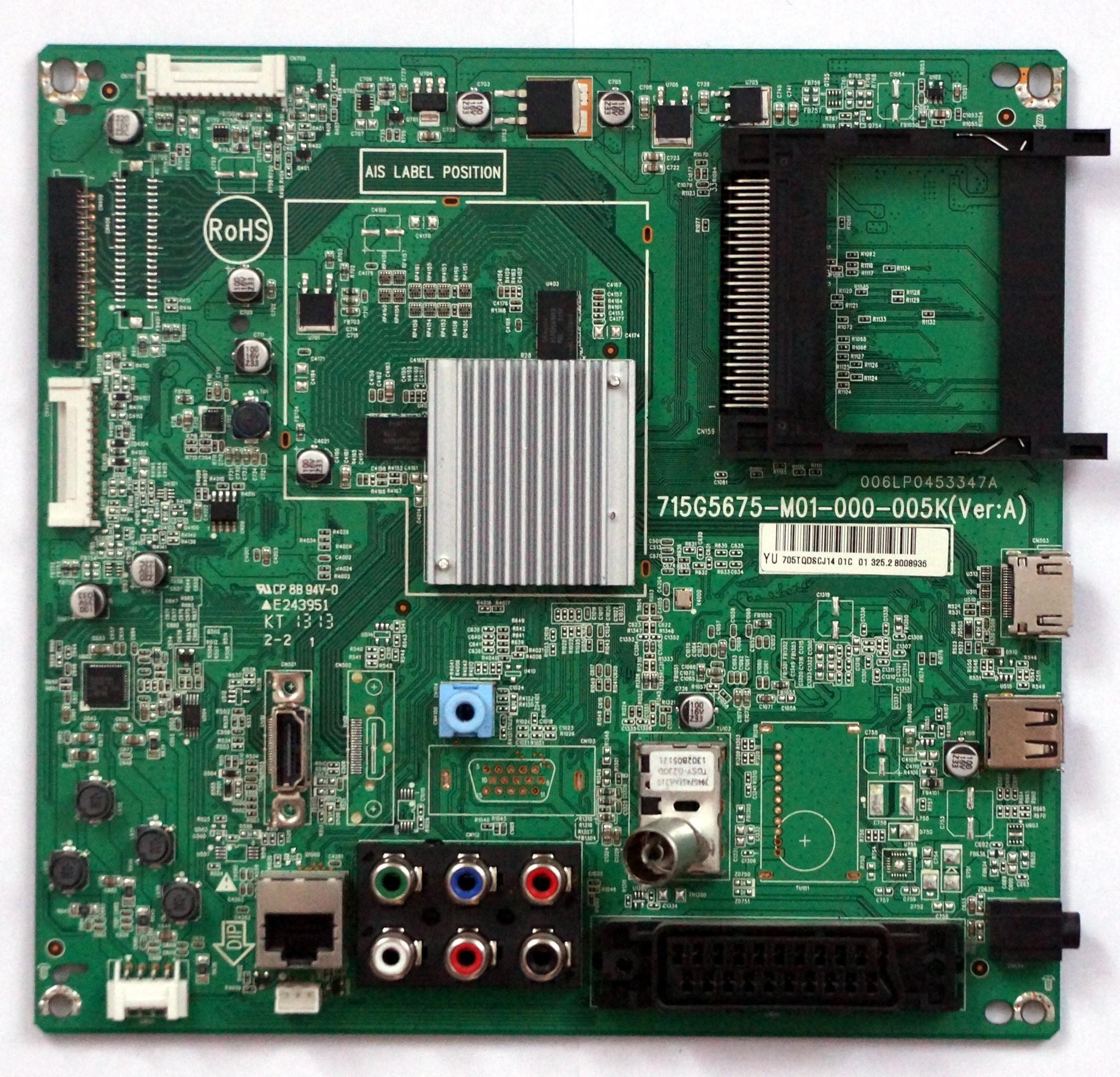 715G5675-M01-000-005K (ver:A) телевизора Philips