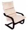 Кресло «Онега», ткань карамель, каркас венге структура, GREENTREE