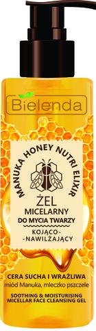 MANUKA HONEY Успокаивающий и увлажняющий мицеллярный гель, сухая и чувствительная кожа, 200 г