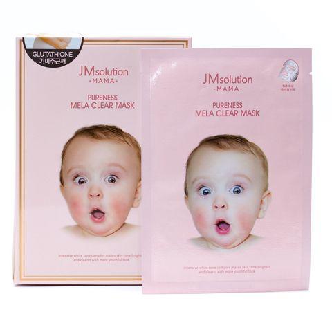 JMsolution Pureness Mela Clear Mask Интенсивная маска для ровного цвета лица и упругой кожи