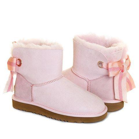 UGG Bailey Bow Mini Customizable Pink