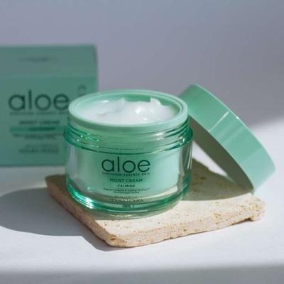 Крем для лица увлажняющий с Алоэ Holika Holika Aloe Soothing Essence 80% Moist Cream