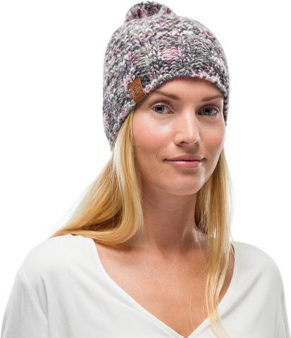 Шапка вязаная с флисом Buff Hat Knitted Polar Margo Castlerock Grey фото 2