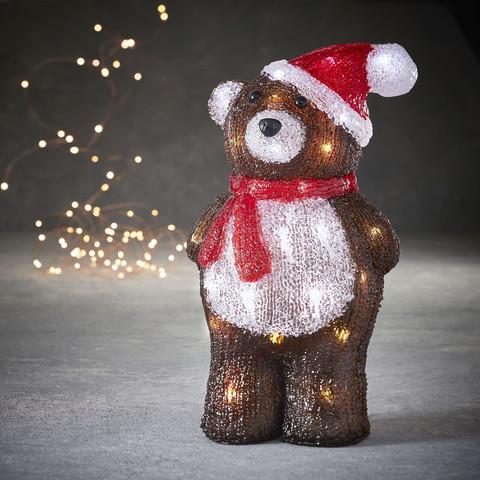 Медведь коричневый в шапке для наружного и внутреннего использования