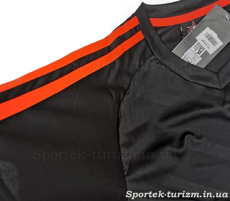 Футболка футбольной формы SP-Sport Glow CO-703B_BK