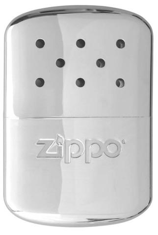 Каталитическая грелка Zippo, сталь с покрытием High Polish Chrome, серебристая, 66x13x99 мм