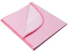 Колорит. Клеенка ПВХ 50х70 см с окантовкой и без резинки, цветная розовый вид 4