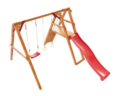 Детская деревянная игровая площадка Монголия